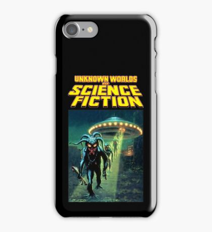 Unknown Worlds of Science Fiction iPhone Case/Skin