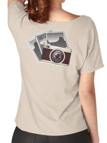 Vintage, Camera, Women's Relaxed Fit T-Shirt