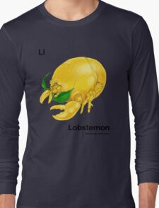 Ll - Lobstemon // Half Lobster, Half Lemon Long Sleeve T-Shirt