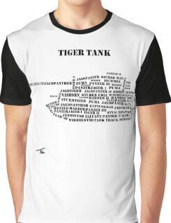 German Tanks of WW2 Graphic T-Shirt