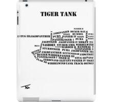 German Tanks of WW2 iPad Case/Skin