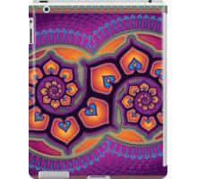 Spirituel abstract poster designs - Lotus Spiral iPad Case/Skin