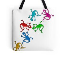 Colorful lizards  Tote Bag