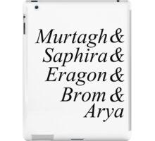Eragon names iPad Case/Skin