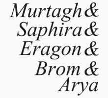 Eragon names by Natasha Cope