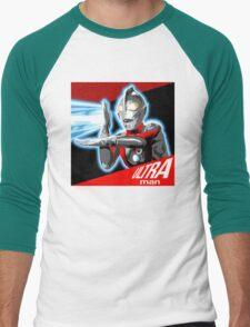 """""""ULTRAMAN"""" Men's Baseball ¾ T-Shirt"""