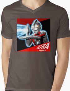 """ULTRAMAN"" Mens V-Neck T-Shirt"