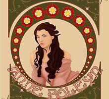 Anne Boleyn by Hannah Alabaster