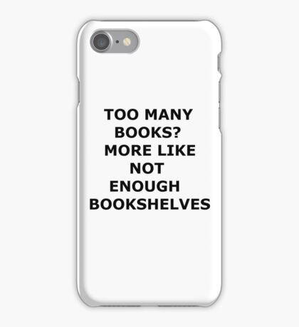 bookaholic iPhone Case/Skin