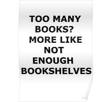 bookaholic Poster