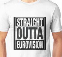 Straight Outta Eurovision Unisex T-Shirt