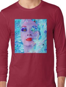 Swimming into the Blue Long Sleeve T-Shirt
