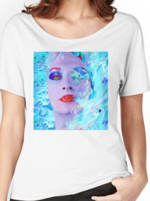 Swimming into the Blue Women's Relaxed Fit T-Shirt