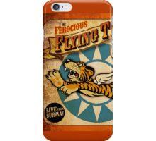 """""""FLYING TIGER"""" VINTAGE  iPhone Case/Skin"""
