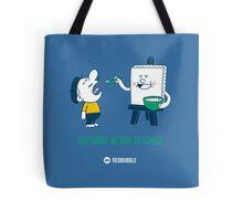Mis obras me dan de comer - Blue&Green v1 Tote Bag