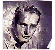 Paul Newman Hollywood Actor Poster