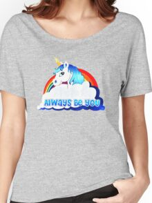 Central Intelligence Unicorn parody funny Women's Relaxed Fit T-Shirt
