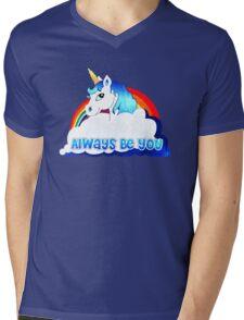 Central Intelligence Unicorn parody funny Mens V-Neck T-Shirt