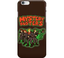 Mystery Busters (by Andriu and Legendary Phoenix) iPhone Case/Skin