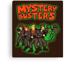 Mystery Busters (by Andriu and Legendary Phoenix) Canvas Print