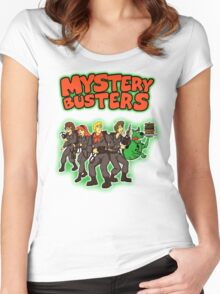 Mystery Busters (by Andriu and Legendary Phoenix) Women's Fitted Scoop T-Shirt