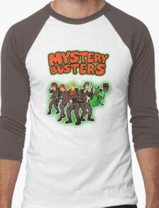 Mystery Busters (by Andriu and Legendary Phoenix) Men's Baseball ¾ T-Shirt