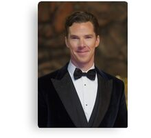 Benedict Cumberbatch - Oil Paint Art Canvas Print