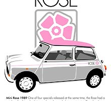 Classic 1989 Mini Rose  by car2oonz