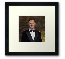 Benedict Cumberbatch - Oil Paint Art (Square) Framed Print