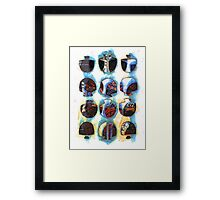 Multifaceted No.3 (Light, Time & Facade Series)  Framed Print