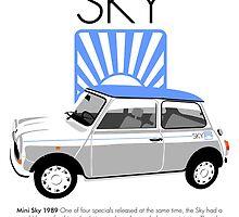 Classic 1989 Mini Sky by car2oonz