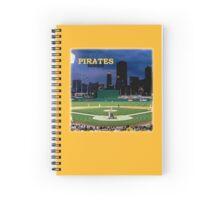 Pirates Tee Spiral Notebook