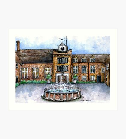 Fulham Palace Courtyard Art Print