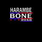HARAMBE AND KEN BONE 2016 by earlstevens