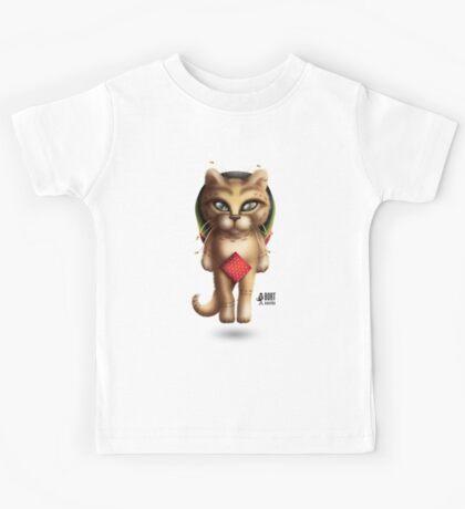 Rastaman Cat Kids Tee