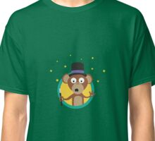 Monkey wizard with stars Classic T-Shirt