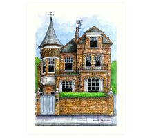 The Turret, Fulham Park Road, SW6 Art Print