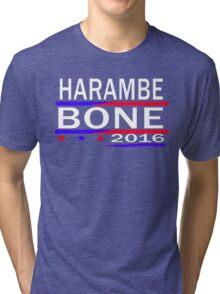 HARAMBE AND KEN BONE 2016 Tri-blend T-Shirt