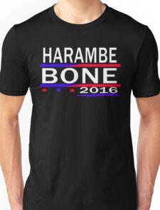 HARAMBE AND KEN BONE 2016 Unisex T-Shirt