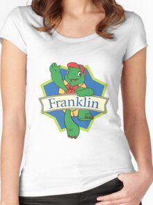 Franklin the turtle Women's Fitted Scoop T-Shirt