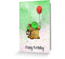 Final Fantasy - Tonberry  Greeting Card