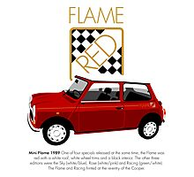 Classic 1989 Mini Flame  Photographic Print