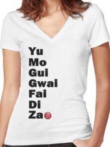 Yu Mo Gui Etc. Women's Fitted V-Neck T-Shirt