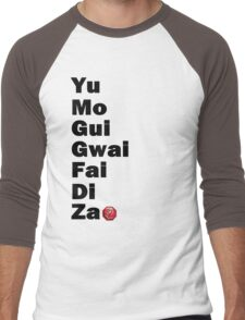 Yu Mo Gui Etc. Men's Baseball ¾ T-Shirt