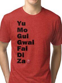 Yu Mo Gui Etc. Tri-blend T-Shirt