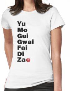 Yu Mo Gui Etc. Womens Fitted T-Shirt