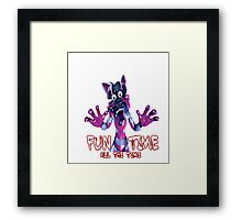 Fun Time All The Time Framed Print