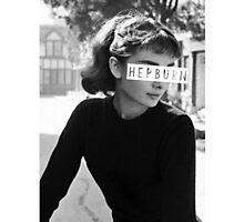 Hepburn #3 Photographic Print