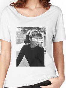 Hepburn #3 Women's Relaxed Fit T-Shirt