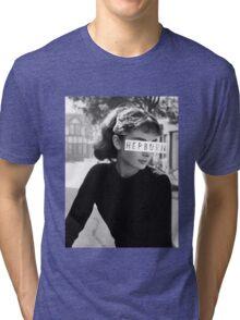 Hepburn #3 Tri-blend T-Shirt